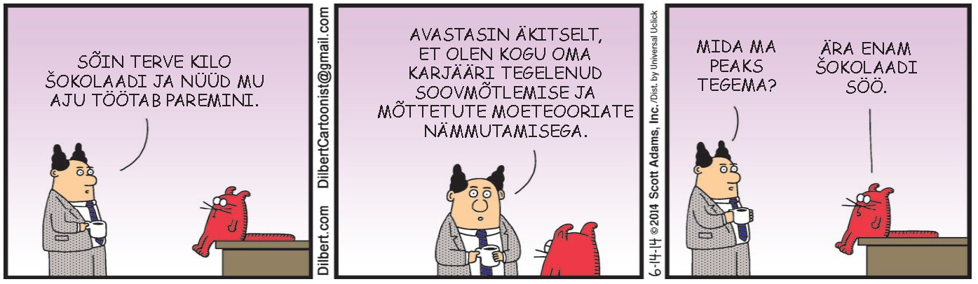 Dilbert - 26. august 2014
