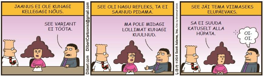 Dilbert - 29. august 2014