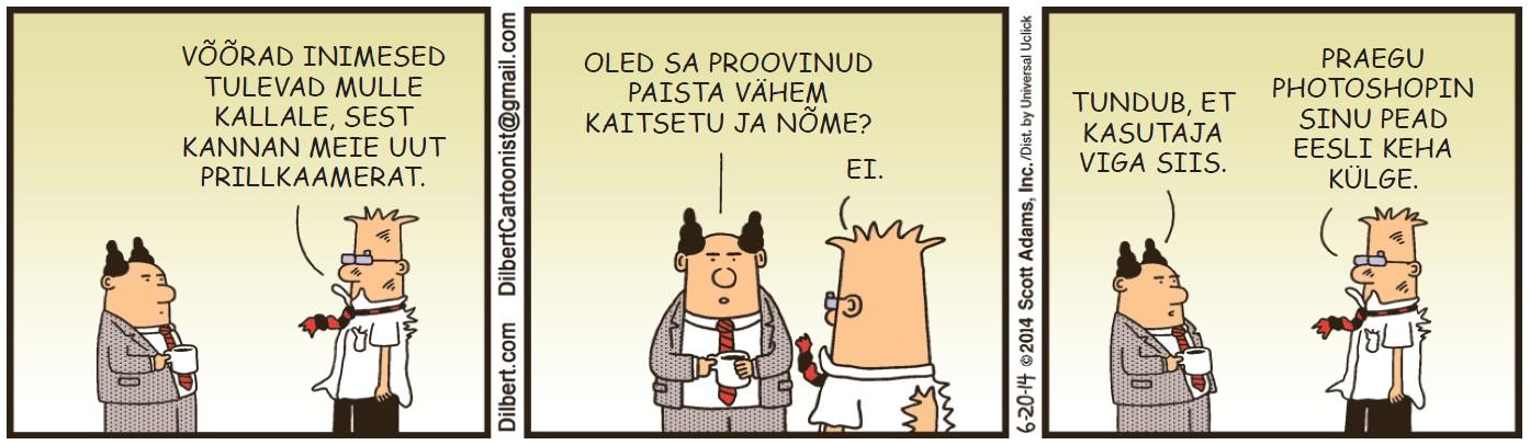 Dilbert -  1. september 2014