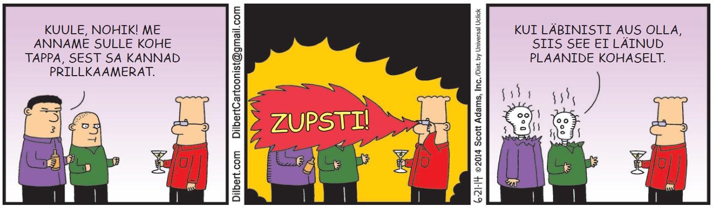 Dilbert -  2. september 2014
