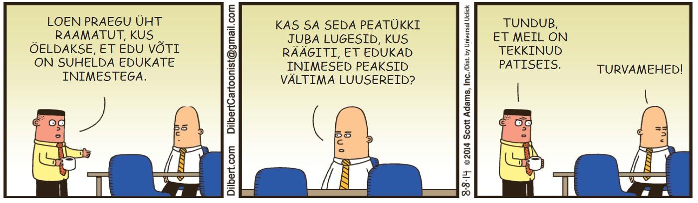 Dilbert - 20. oktoober 2014