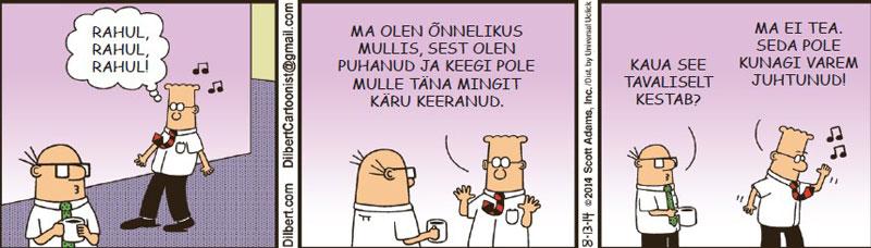 Dilbert - 24. oktoober 2014