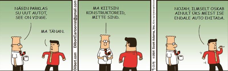 Dilbert - 22. november 2014